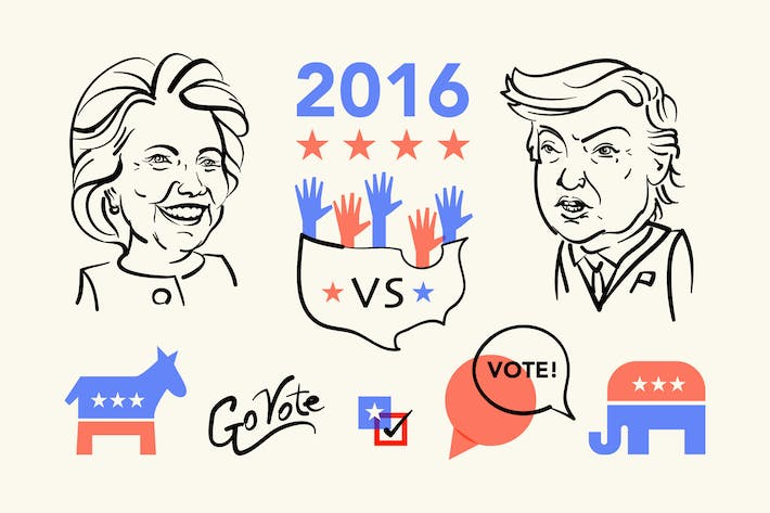 Thumbnail for President Election 2016 Clipart
