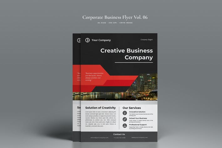 Thumbnail for Corporate Business Flyer