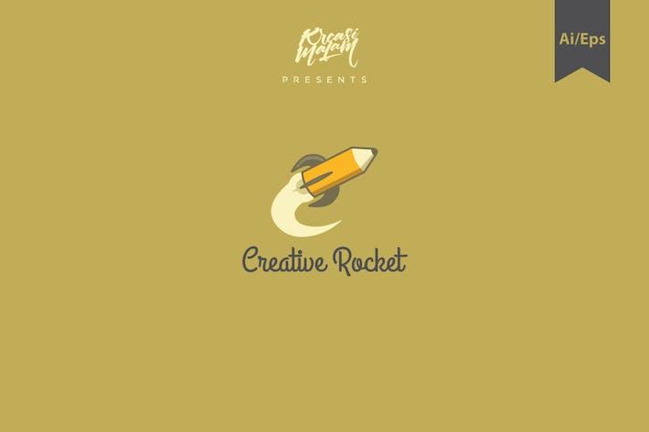 Thumbnail for Creative Rocket Logo Template
