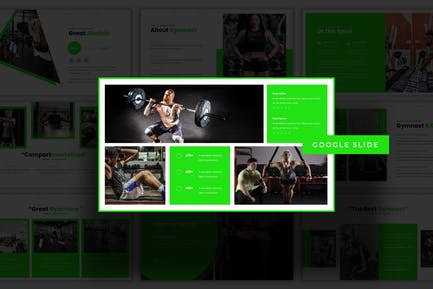 Gymnastic - Google Slide Template