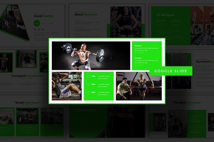 Thumbnail for Gymnastic - Google Slide Template