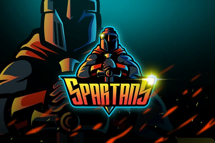 Thumbnail for Spartans - Mascot & Logo Esport