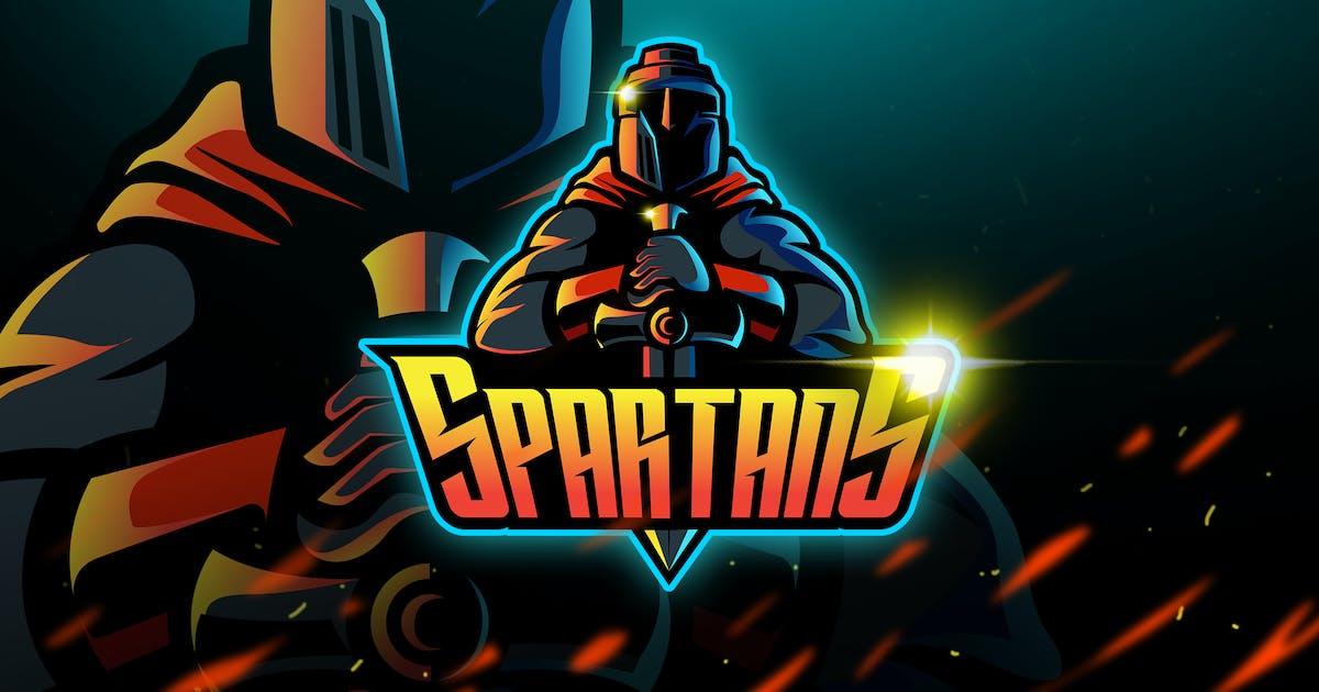 Spartans - Mascot & Logo Esport by aqrstudio