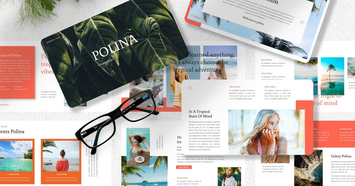 Download Polina - Creative Keynote Template by Yumnacreative