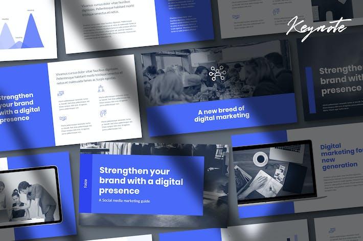 Thumbnail for Faize - Отчет о цифровом маркетинге