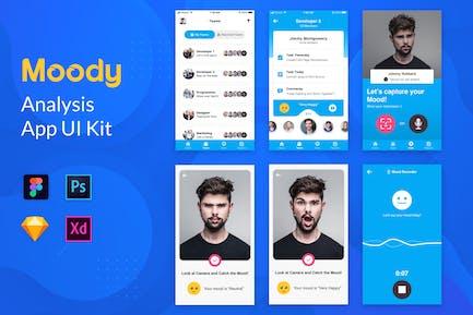 Moody App Template - Nuzie