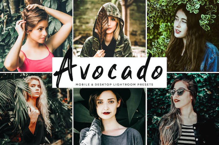 Thumbnail for Avocado Mobile & Desktop Lightroom Presets