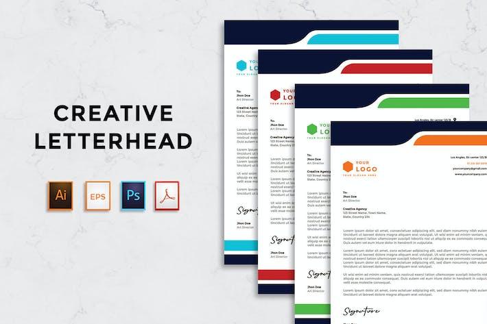 Thumbnail for Rantautemp - Creative Letterhead vol 5