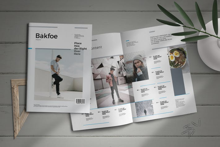 Thumbnail for Bakfoe | Magazine Template