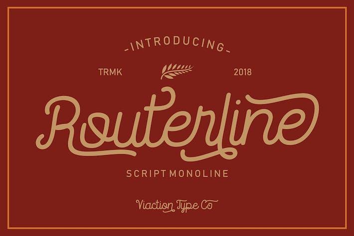 Thumbnail for Fuente Monoline Routerline