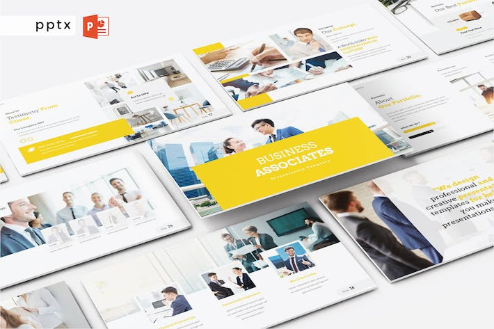 Thumbnail for BUSINESSABISONEN - Powerpoint V497