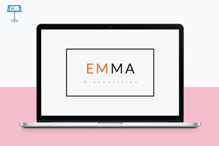 Thumbnail for EMMA - Multipurpose Keynote Template V63