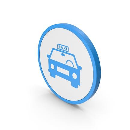 Icon Taxi Blue