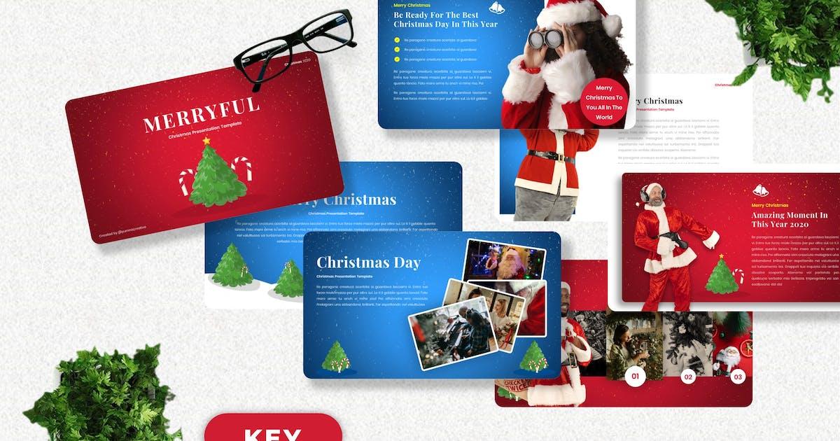 Download Merryful - Christmas Keynote Template by Yumnacreative