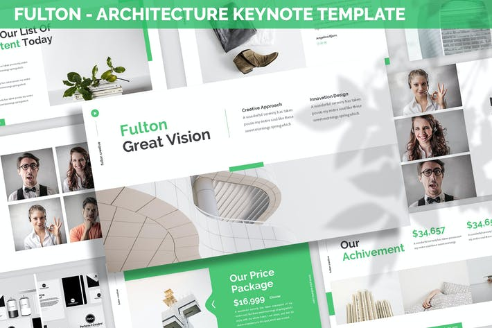 Thumbnail for Fulton - Architecture Keynote Template