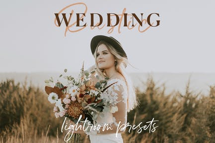 The Rustic Wedding Lightroom Preset Collection