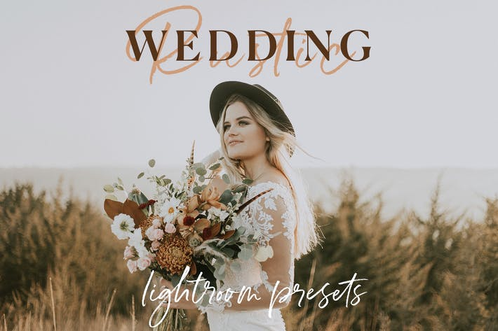 Thumbnail for The Rustic Wedding Lightroom Preset Collection