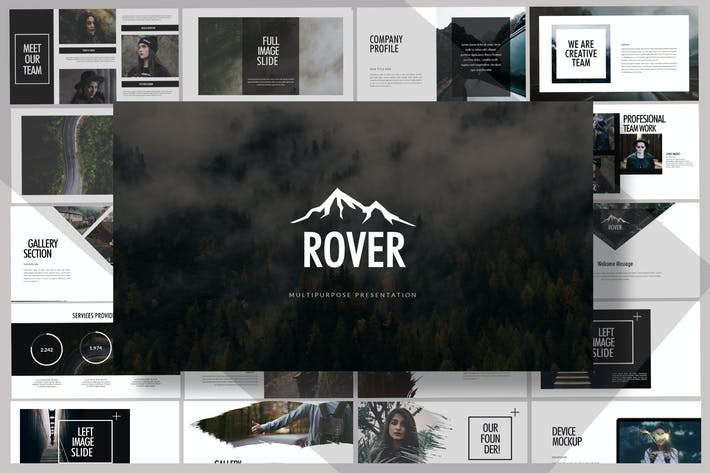 Thumbnail for Rover Adventure - Powerpoint Template