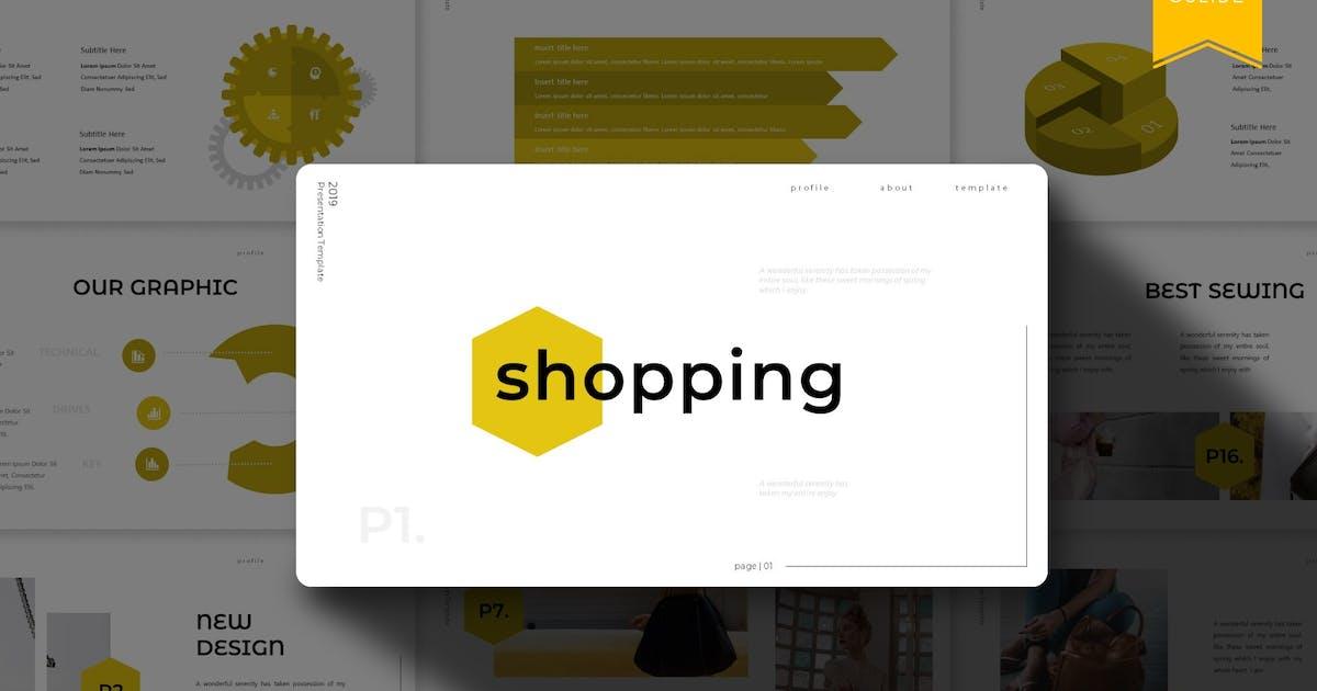 Download Shopping | Google Slides Template by Vunira