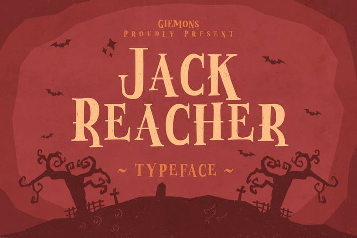 Cover Image For Jack Reacher Typeface