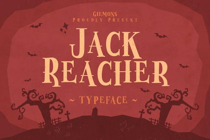 Thumbnail for Jack Reacher Typeface