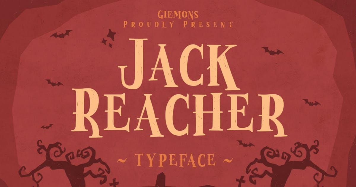 Jack Reacher Typeface by giemons