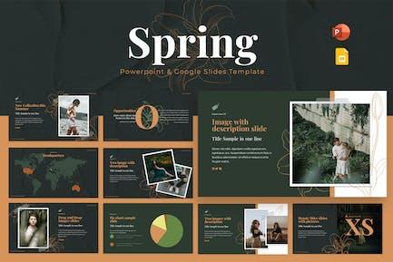 Spring Powerpoint & Google Slides Template