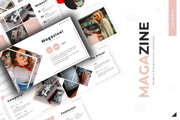 Thumbnail for Magazine  - Keynote Template