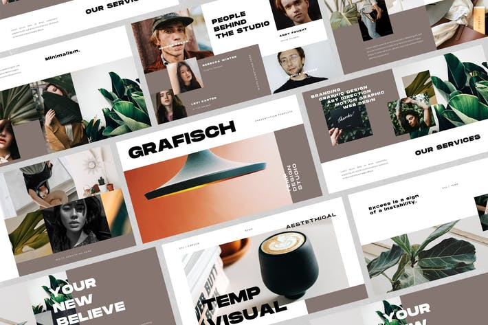 Thumbnail for Grafisch - Creative Keynote Template