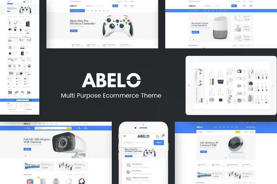 Abelo - Tema Digital Responsive Prestshop