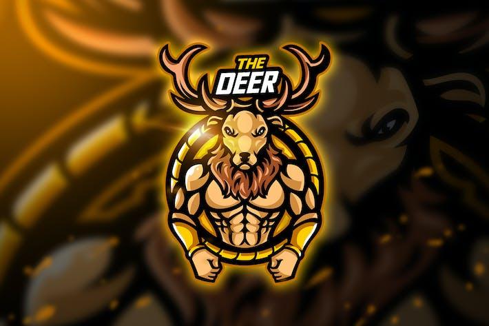 Thumbnail for Deer full - Mascot & Esport Logo