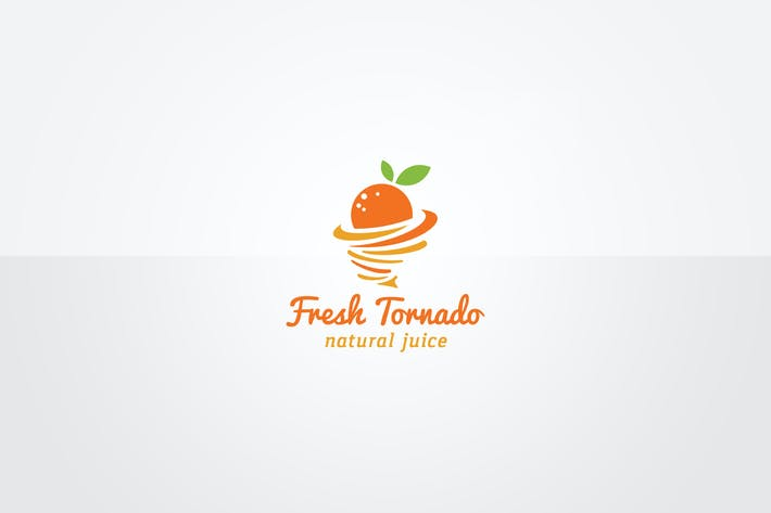 Cover Image For Fresh Fruits Logo Template