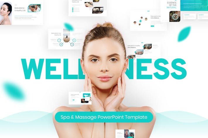 Thumbnail for Wellness Spa & Massage PowerPoint Template