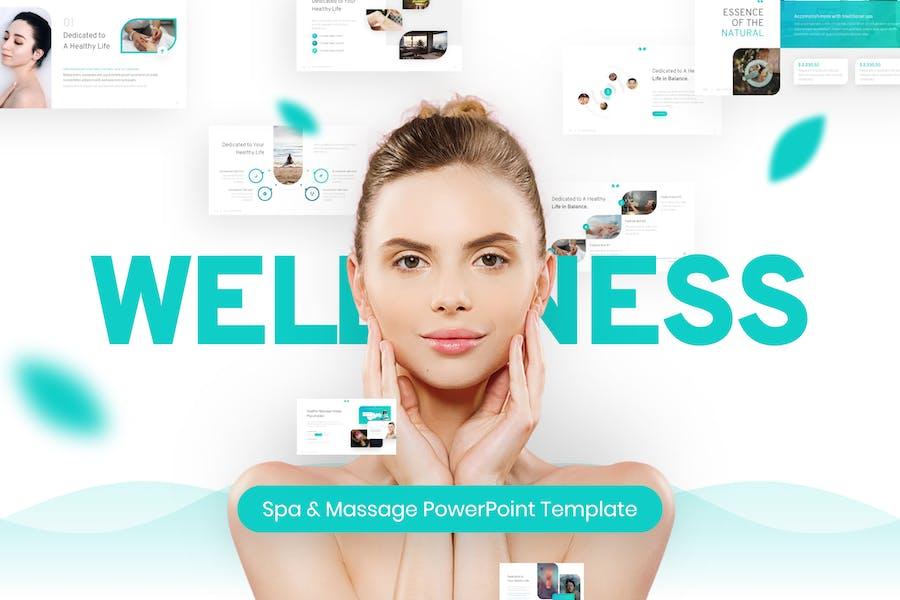 Wellness Spa & Massage PowerPoint Template