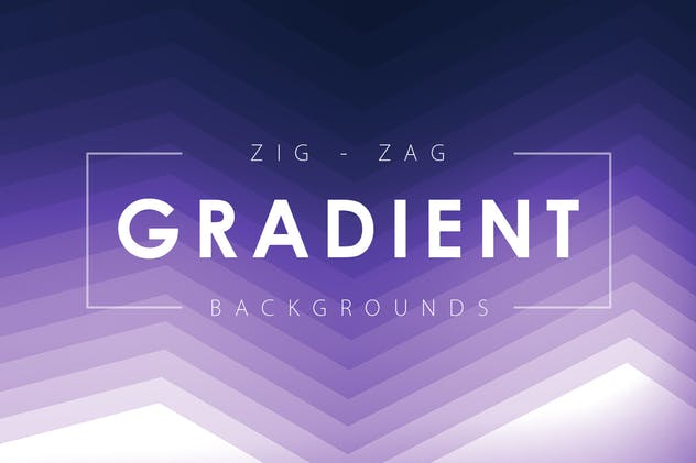 Zig Zag Gradient Backgrounds