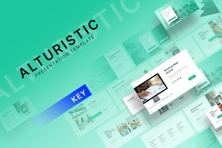 Thumbnail for Alturistic - Шаблон Keynote