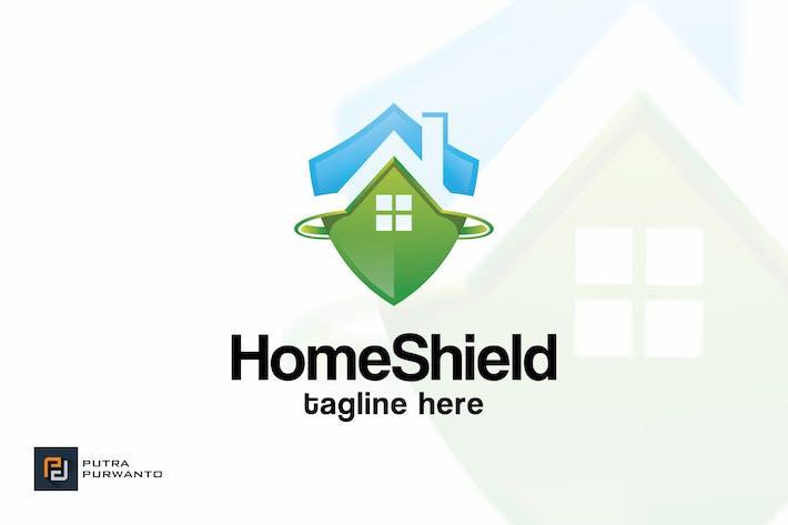 Thumbnail for Home Shield - Logo Template