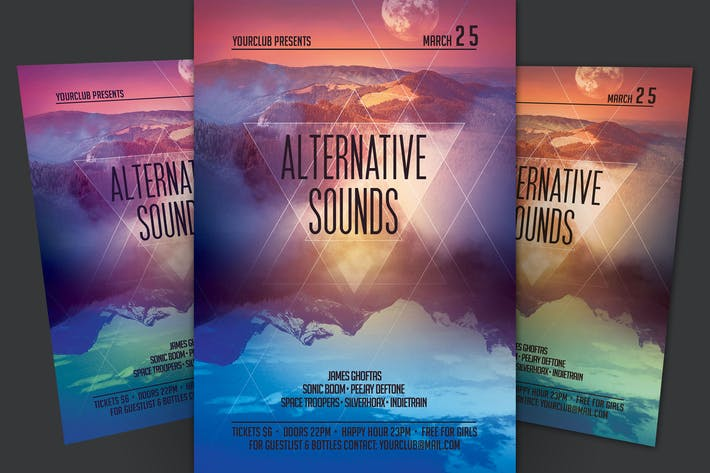 Thumbnail for Alternative Sounds Flyer