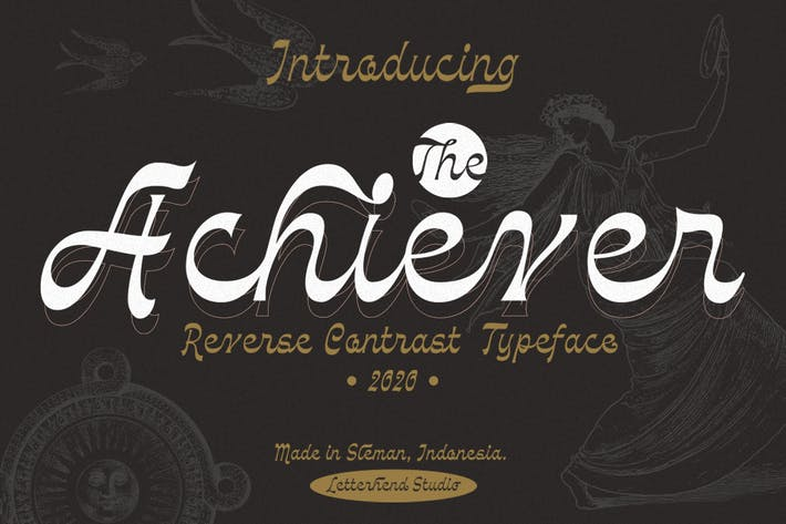 Thumbnail for The Achiever - Reverse Contrast