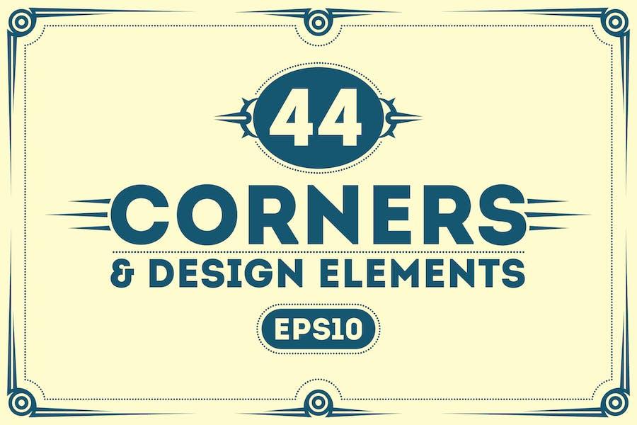 Brutal Corners and Design Elements