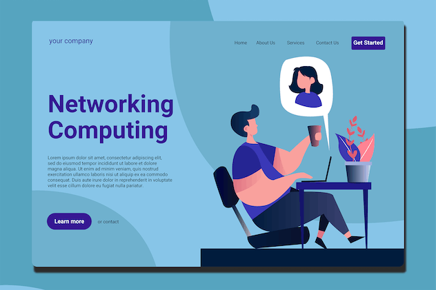 Teleconference - Landing Page