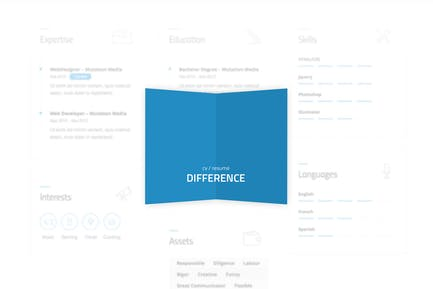 Difference - CV/RESUME TEMPLATE