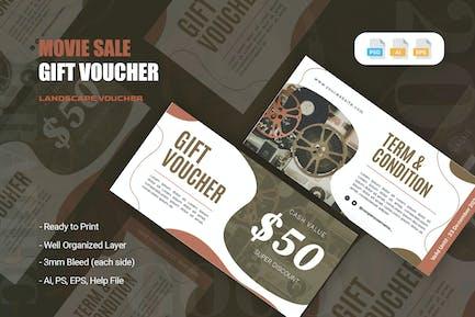 Movie Sale Gift Voucher
