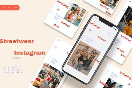 Streetwear Instagram Pack