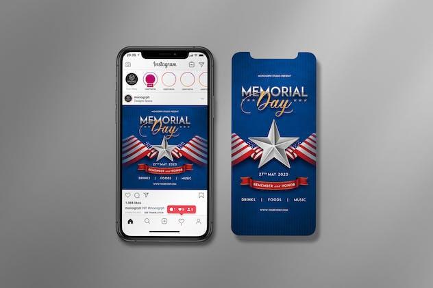 Memorial Day Instagram Set