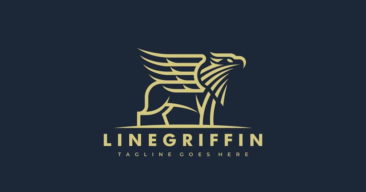Download Griffin Lineart Logo template by ivan_artnivora