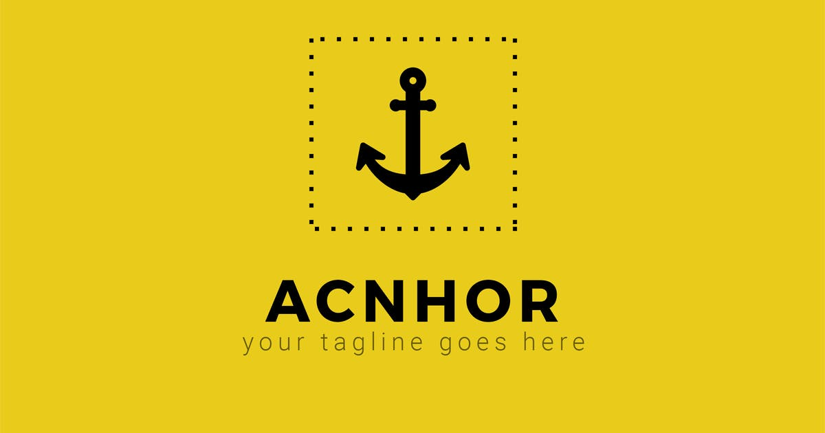 Download Anchor - Creative Logo Template by ThemeWisdom