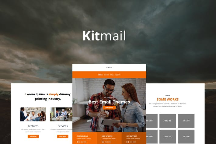 Download the Latest 136 Icontact, Responsive Email Templates