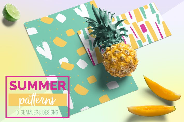 Thumbnail for Summer Seamless Patterns