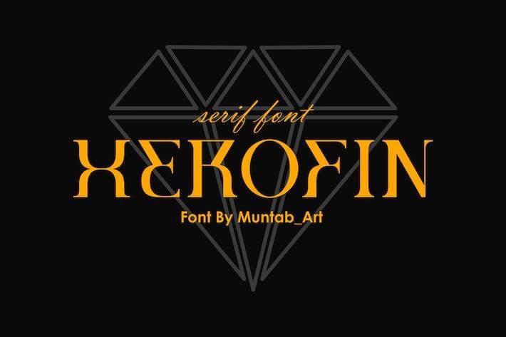 Herofin | Fuente Con serifa moderna